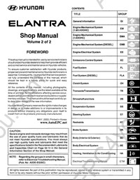 Elantra owners 2007 hyundai manual pdf