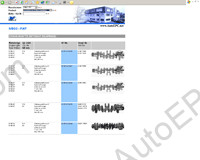 BF-Germany spare parts catalog engine parts for trucks BF-Germany