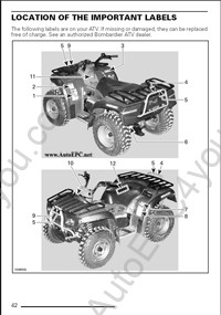 bombardier atv 2002. Black Bedroom Furniture Sets. Home Design Ideas