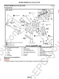 Nissan Murano Z50, service manual, repair manual, workshop