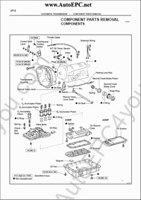 Toyota transmission and transaxle repair manuals