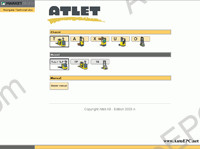 Atlet AB electronic spare parts catalogue contains original spare parts catalogue all models Atlet AB Forklift, Stackers, Reach Trucks, Four Way Trucks, Telereach Trucks, Very Narrow Aisle, Low Level Order Pickers, High Level Order Pickers