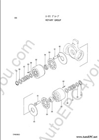 Hitachi Excavator spare parts catalog, parts book, service