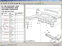 Bentley Continental GT Electronic spare parts catalogue