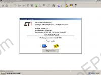Caterpillar ET 2009B software for Caterplillar Communication Adapter.