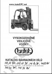 Belet Forklift spare parts catalogue