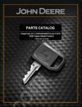 Spare parts catalogue John Deere Power Systems