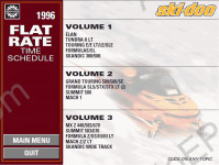 Bombardier Ski Doo 1996-1997 spare parts catalog BRP Ski Doo, repair manual, maintenance, wiring diagrams, specifications