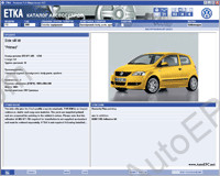 Audi VW Skoda Seat ETKA 7.1 original accessories catalogue