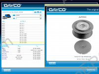 Dayco spare parts catalog Dayco belts