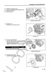 Mitsubishi S4S, S6S Diesel Engine Service manual, maintenance and adjustment procedures, reassembly Mitsubishi S4S, S6S Diesel Engine