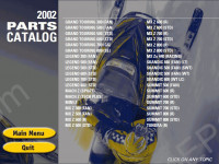 Bombardier Ski Doo 2002 spare parts catalog BRP Ski Doo, repair manual, maintenance, wiring diagrams, specifications