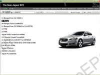Jaguar EPC 3.0 2018 spare parts and accessories catalog Jaguar, presented all models Jaguar cars