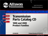 Allison Transmission Parts Catalog 5000 and 6000 product families spare parts catalog