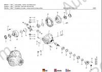 Fuchs-Terex MHL 350 spare parts catalog, parts manual