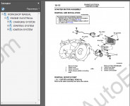 Mitsubishi Outlander 2003 repair manuals, service manuals, workshop manuals, maintenance, electrical wiring diagrams, body repair manual Mitsubishi Outlander 2003