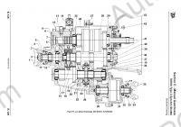 JCB workshop service manual, electrical wiring diagram