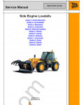 JCB Loadall Service Manual service manual, engine, transmission repair manual, wiring diagram, hydravlic diagram, assembly, disassembly, specifications for JCB Loadall