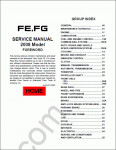 Mitsubishi FUSO 2009 Service Manual service manual, repair manual, maintenance, electrical wiring diagrams Mitsubishi Fuso FE, FG, FK, FM series 2009 year
