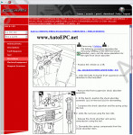 Alfa Romeo 164 dealer service manual, repair manual, electrical wiring diagrams Alfa Romeo, Body Dimensions