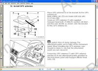 BMW EBA German original spare parts and accessories installation manual, connection, adjustment, electrical wiring diagrams, all series BMW cars