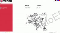 Atlas Terex spare parts catalogue, operator manuls, excavators Terex Atlas