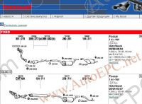 Electronic spare parts catalogue Bosal