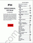 Mitsubishi Fuso Truck repair manual, service manual, workshop manual, electrical wiring diagrams
