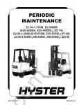 Hyster Forklift repair manuals, service manuals
