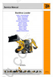 JCB 5CX Service Manual service manuals for JCB 5CX Variants Service Manual, 9803-0250