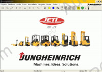 JETI ForkLift ET (Jungheinrich Fork Lifts) v4.32 original Jungheinrich Fork Lifts electronic spare parts identification catalog