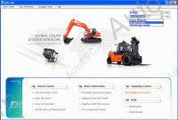 Doosan 2014 spare parts catalog for Doosan technics EU
