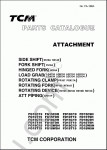 TCM ForkLift EPC 2007 spare parts identification catalog for TCM forklifts, PDF