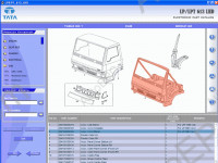 TATA LP/LPT 613 LHD spare parts catalog for TATA LP/LPT 613 LHD