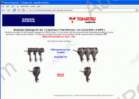 Tohatsu spare parts, owner and repair manuals.