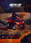 Arctic Cat 1974-2007 PartSmart, water craft, snowmobile, ATV, generators, utility vehicles + Service Bulletins and Accessories catalog.