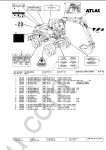Atlas Excavators (TEREX) original spare parts catalog for Atlas excavators and Terex excavators, PDF
