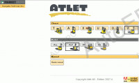 Atlet AB - Nissan Forklift spare parts catalog for Nissan Atlet Forklifts