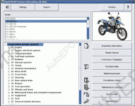 BMW R1200, R900, HP2 RepROM, repair manual for BMW Motorcycles HP2 Enduro, R 1200 GS, R 1200 GS Adventure, R 1200 R, R 1200 RT, R 1200 S, R 1200 ST, R900 RT.