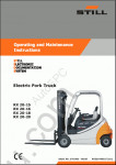 STILL STEDS 8.17 - 2017 Lift trucks, fork lifts, original spare parts, workshop manual, diagnosis, user manual and etc.