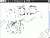 Mitsubishi ForkLift Trucks MCFE 2018 electronic spare part catalogue identification for Mitsubishi Fork Lift.