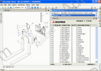 Mitsubishi Warehouse Trucks (LinkOne) spare parts catalog Mitsubishi Forklift LinkOne