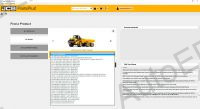 JCB Parts Pro 2017 electronic spare parts catalogue for JCB Construction Equipment